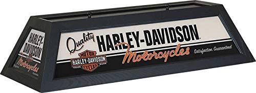 Harley-Davidson Quality Motorcycles Billiard Lamp - Black Finish