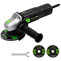 GALAX PRO 6 Amp Angle Grinder with 2 Abrasive Wheels