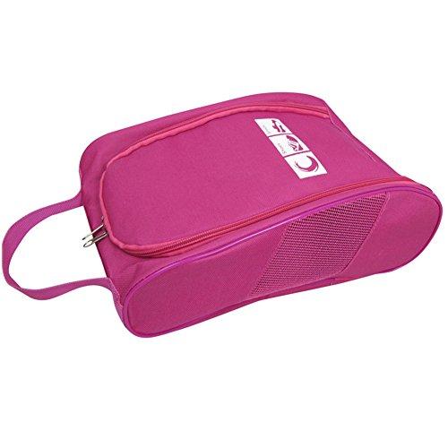 Portable Oxford Travel Shoe Tote Bag, Waterproof Shoe Packing Storage Gym Organizer by Ailaka (Image #1)