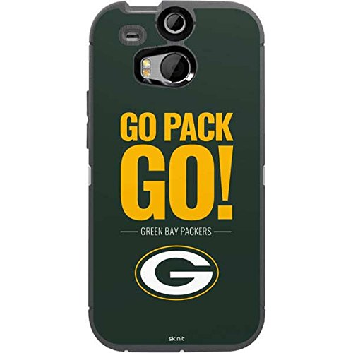 new style e8556 6984e Green Bay Packers OtterBox Defender HTC One M8 Skin - Green Bay Packers  Team Motto | NFL X Skinit Skin