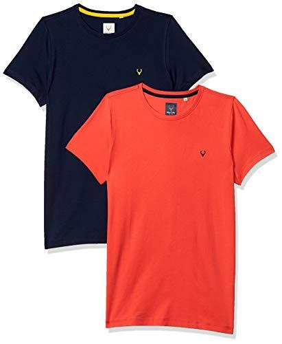 Allen Solly Junior Boy's T-Shirt (Pack of 2)