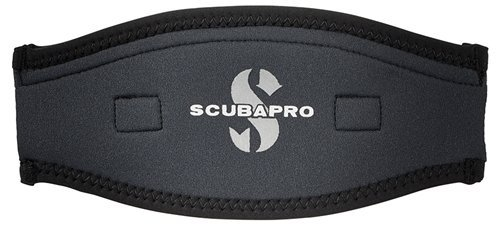 - ScubaPro Neoprene Mask Strap Cover (Black / Black)