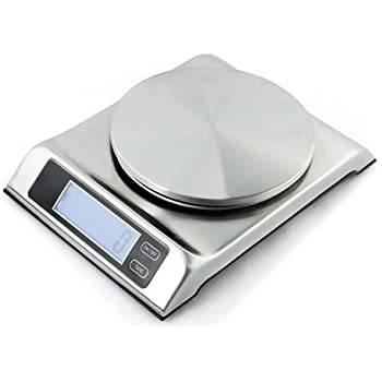 Zuccor capri stainless steel professional food for Professional food scale