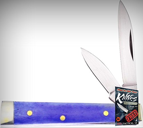 Frost 14-974PSB Baby Doc Mirror Finish Folding Limited Elite Knife W/2 Blades Folder + free eBook by ProTactical'US