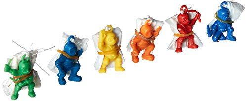 Fun Express Ninja Warrior Paratroopers (48 Piece)