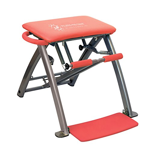 Pilates PRO Chair by Life's A Beach (Red) (Pilates Reformer Machine)