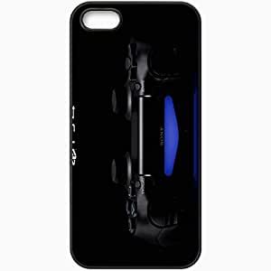 Personalized iPhone 5 5S Cell phone Case/Cover Skin Playstation 4 Black
