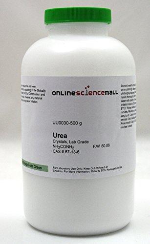 500g of Urea Crystals - Lab Grade Reagent (Urea Crystals compare prices)
