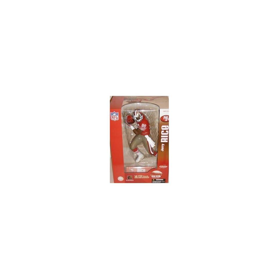 McFarlane NFL 12 inch Jerry Rice San Francisco 49ers Collectors Club figure