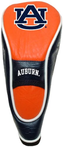 Team Golf NCAA Auburn University Tigers Hybrid Golf Club Headcover, Hook-and-Loop Closure, Velour lined for Extra Club Protection