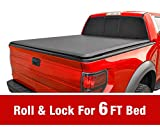 1996 ford ranger tonneau cover - Roll Up Truck Bed Tonneau Cover Works 1982-2013 Ford Ranger; 1994-2011 Mazda B-Series Pickup | Styleside 6' Bed
