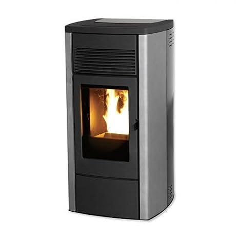 MCZ EGO 2.0 Air Pellet estufa de 8 kW Pellet Horno EGO de Dark: Amazon.es: Bricolaje y herramientas