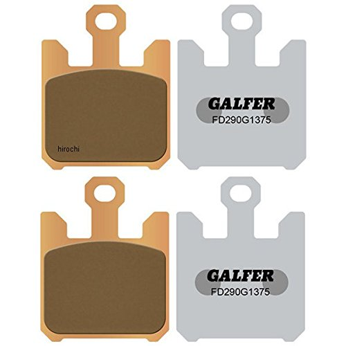 ガルファー GALFER ブレーキパッド フロント 03年-07年 ZX636、ZX1200、ZX1000 シンタード 206570 FD290G1375   B01N51MPUZ