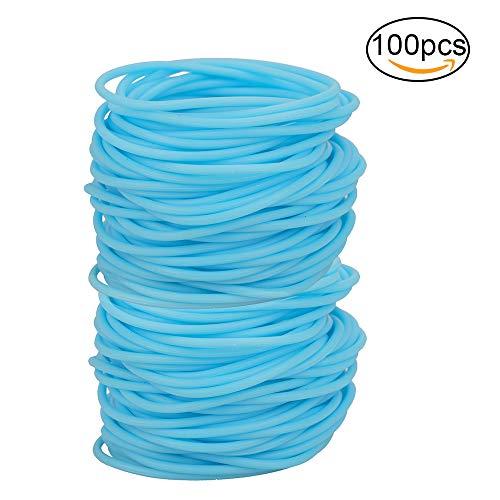 jelly hair elastics - 9