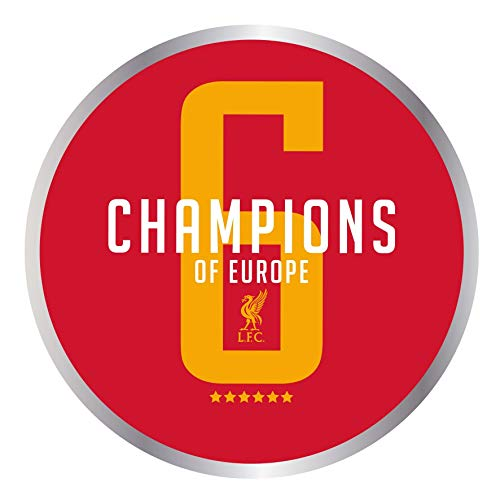 (Liverpool FC Red UCL Champions Magnet LFC Official)