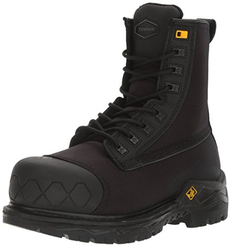 Kodiak Steel Toe Shoes - Terra Men's SPEARHEAD Industrial & Construction Shoe Black 16 M US