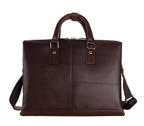 FRAZILL Herren Leder Aktentasche Herren Handtaschen Herren Umhängetasche Herren Laptop Tasche Hohe Qualität JM7214Q