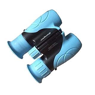 Prompter Kids Binoculars 8x21, Children's Telescope Opera Glasses Educational Outdoor Explorer Toy for Kids HD Night Vision Telescopes for Bird Watching Stargazing Adventure Football Game (Blue)