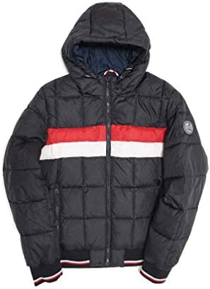 HOODED DOWN JACKET 158AN594