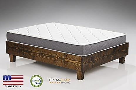 dreamfoam bedding spring dreams twin xl 9inch twosided pocket coil mattress