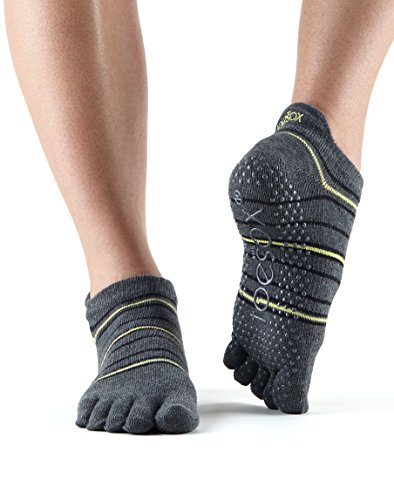 ToeSox Grip Full Toe Low Rise (Amped) Small