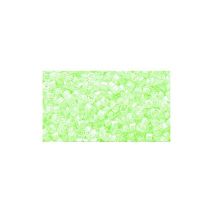 Miyuki Delicas 11//0 Luminuos Lt.Orange Seed Beads DB-2032