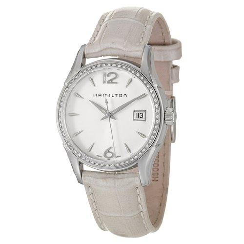 Hamilton Women's H32381915 Jazzmaster White Dial Watch