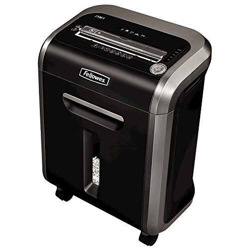 Fellowes Powershred 79Ci 100% Jam Proof Medium, Duty Cross, Cut Shredder, 16 Sheet Capacity, Black/Dark Silver (225i Fellowes)