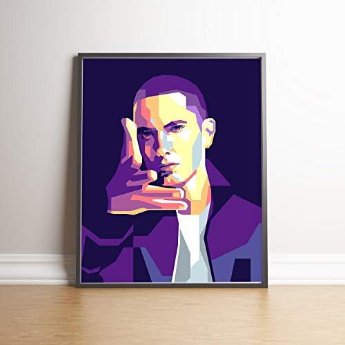 Eminem Limited Edition Poster Wall Art Wall Merchandise (Additional Sizes) (8×10)