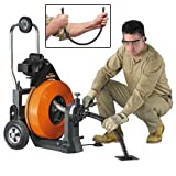 General Wire Maxi-Rooter Drain/Sewer Cleaning Machine W/ (2) 5/8'' Cables & Cutter Set,P-Mx-E
