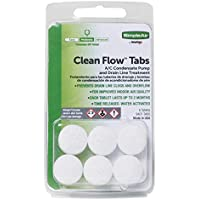 SimpleAir Clean Flow HVAC Drain Line Treatment Tabs, 6 pk