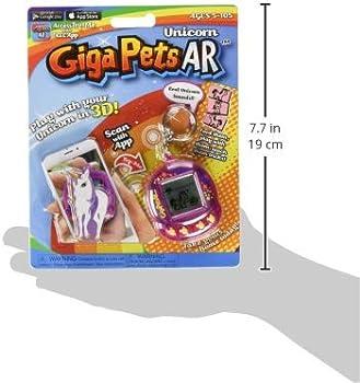 Giga Pets AR Unicorn Virtual Animal Pet Toy Purple