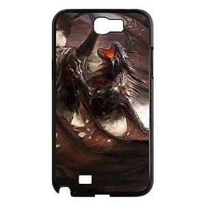 Custom Dragon Design Plastic Case for Samsung Galaxy Note 2
