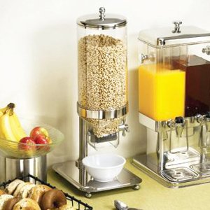Tablecraft Products S/S & Polycarbonate 50 Oz. Cereal Dispenser
