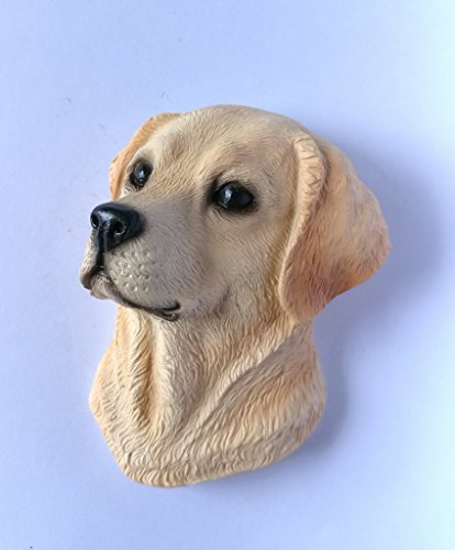 Labrador Retriever Dog Head Fridge Magnets Resin 3D fridge Refrigerator Thai Magnet Hand Made Craft. ()