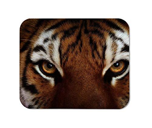 BGLKCS Tiger Eyes Mousepad, Rectangular Mouse Pad