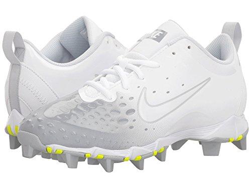 新しい意味周辺残酷(ナイキ) NIKE レディース野球ベースボール?ソフトボールシューズ Hyperdiamond 2 Keystone Wolf Grey/White/White/Pure Platinum 9.5 (26.5cm) B - Medium