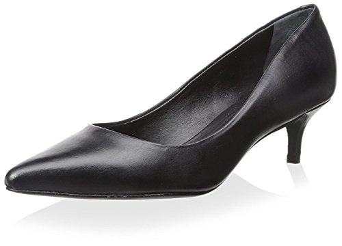 Black Toe Pump Heel Schutz Point Women's Kitten wYFRCzx