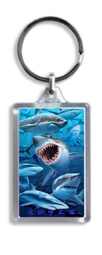 Artgame - Sharks - 3D Keyrings from Artgame