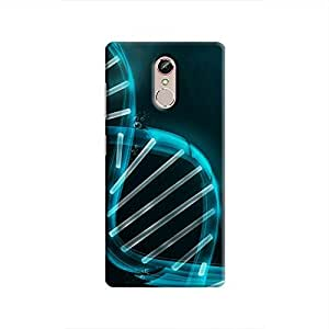Cover It Up - Blue DNAGionee S6s Hard case