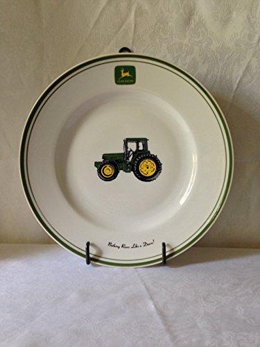 John Deere Plate - Gibson John Deere Tractor Pattern Salad Plate - 1 Plate