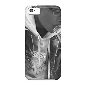 Iphone 5c PCZ2215PoIq Provide Private Custom Vivid Wiz Khalifa Skin Shock Absorption Hard Phone Cases -Marycase88