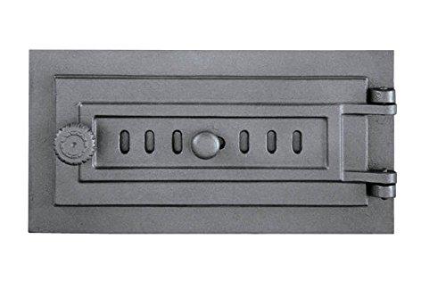 Asche porta Revisions camino Forno Porta in legno Forno Grill ghisa 398 X 203