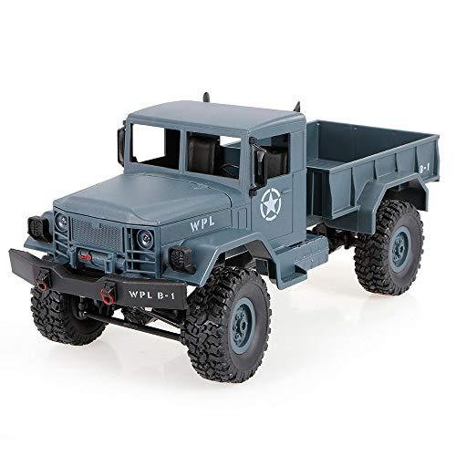 Goolsky WPL B-1 1/16 2.4G 4WD Off-Road RC Military Truck Rock Crawler Army Car
