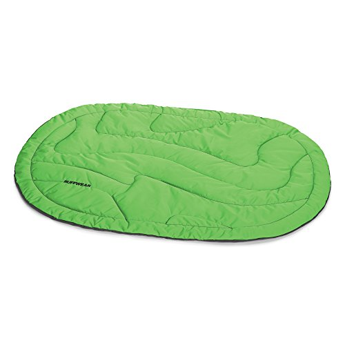 RUFFWEAR - Highlands Bed, Meadow Green (Canine Travel Bed Hardware)
