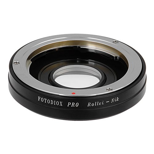 Fotodiox Pro Lens Mount Adapter - Rollei 35 (SL35) SLR Lens to Nikon F Mount SLR Camera Body