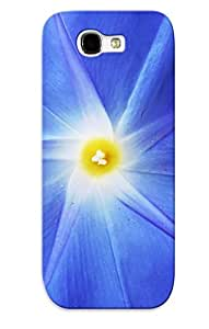Tpu Case Cover Design Compatible For Galaxy Note 2/ Hot Case/ Blue Morning Glory