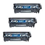 Canon 0263B001A Compatible Laser/Fax Toner Cartridge – 3 Pack – Black, Office Central
