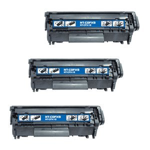 Cool Toner Canon 0263B001A Compatible Laser/Fax Toner Cartridge - 3 Pack - Black