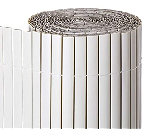 Comercial Candela CAÑIZO PVC Doble Cara Blanco 1X3 Metros: Amazon.es: Jardín